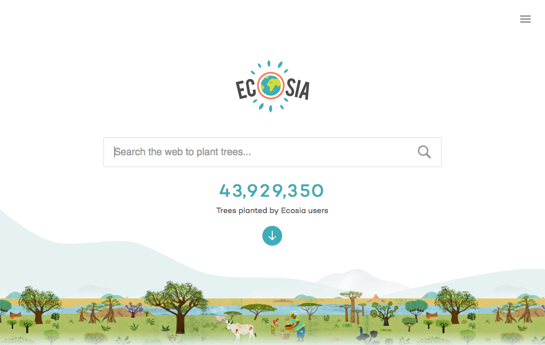 ecosia search engine | goodbiz.co