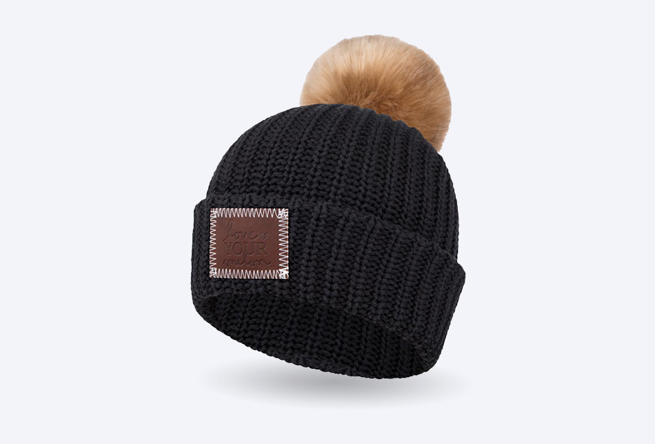 bf7312434d2ad Love Your Melon - Pom Beanie Knit Hat