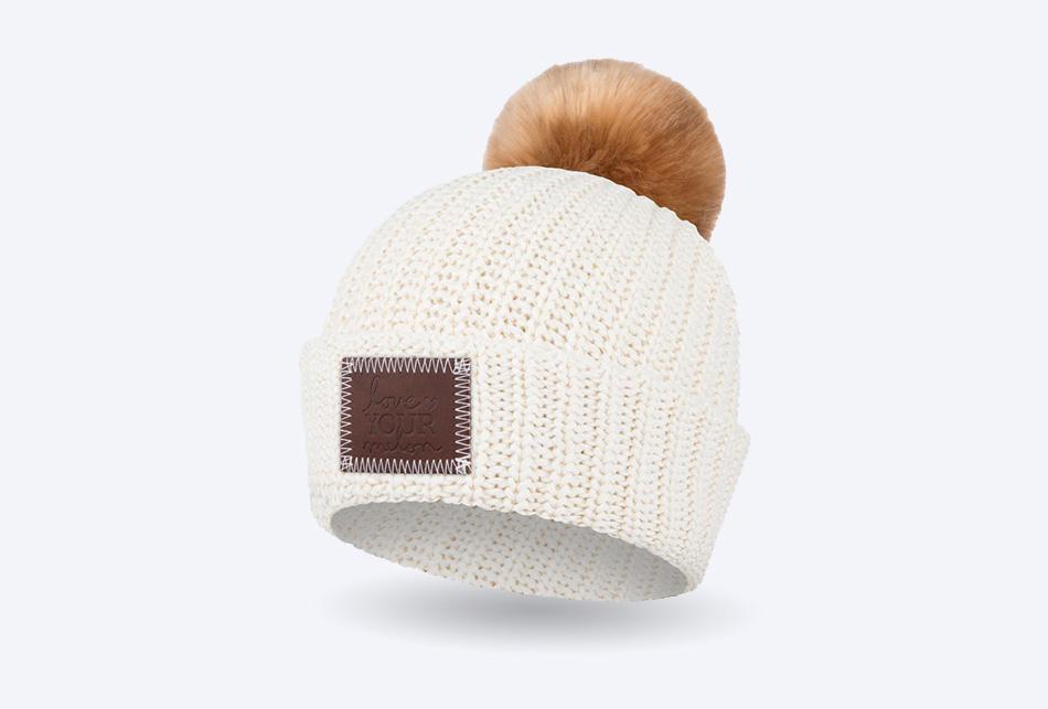 0379369823f26 Love Your Melon - Pom Beanie Knit Hat
