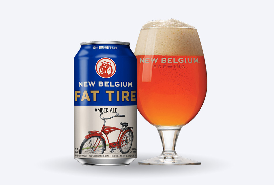 New Belgium Brewing Fat Tire | GoodBiz.co